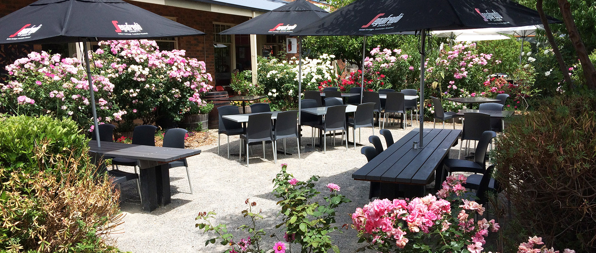 Yarra Glen Cafe Outdoor Dining Area